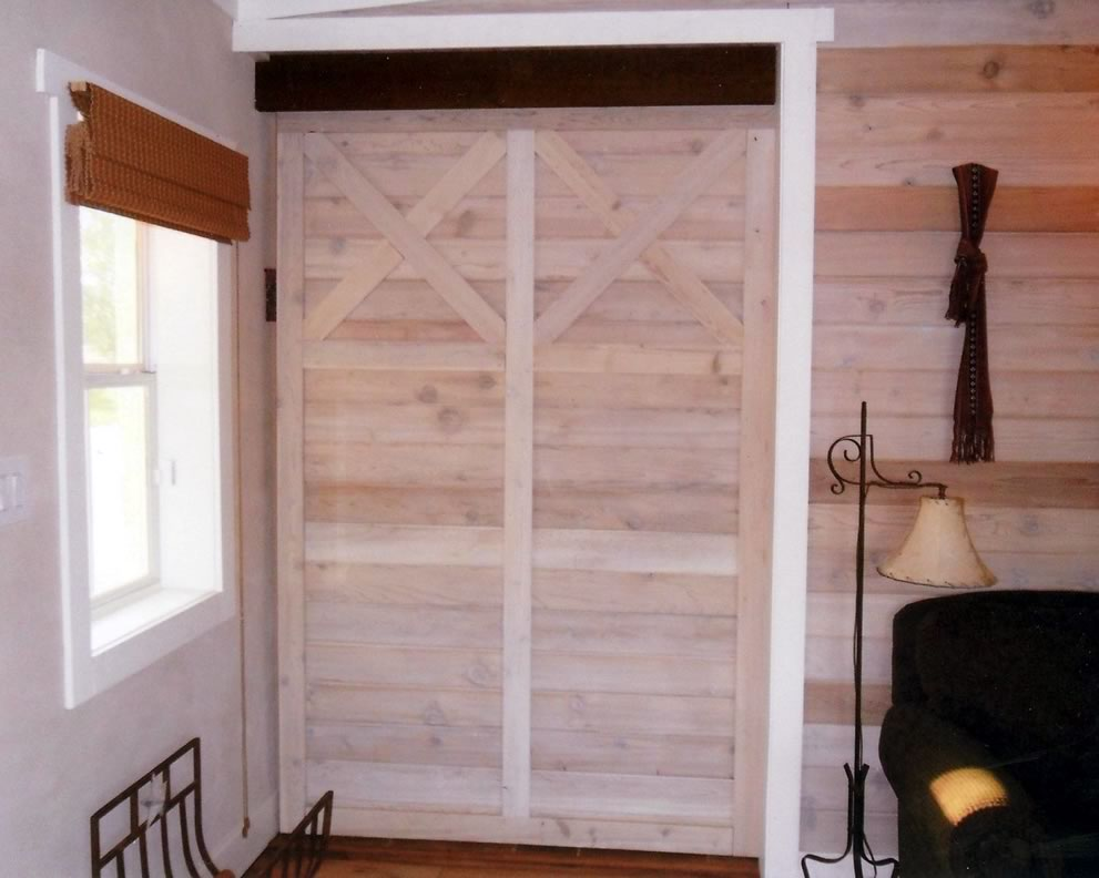 paneling and custom paneled door